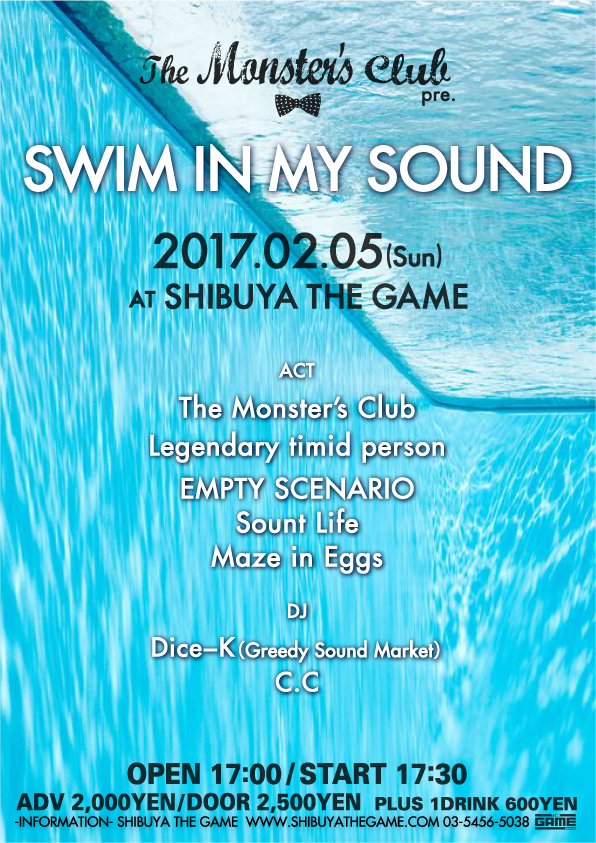 SWIM IN MY SOUND FLYER